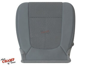 2011 2012 2013 Ford F250 F350 F450 Xlt driver Side Bottom Cloth Seat Cover Gray