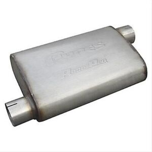 Pypes Race Pro Stainless Steel Muffler 3 Inch Inlet And Outlet Mvr16