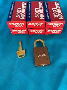 Box Of 6 American Lock 1100 Series Padlock Keyed Differently