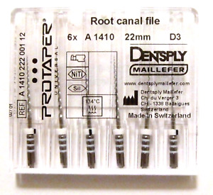 Dental Dentsply Protaper Universal Rotary Retreatment Files Assorted Pack D3