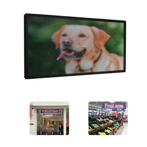 27 X 14 Inch Full Color P5 Led Sign Programmable Scrolling Message Display