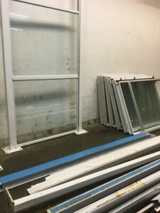 Glass Office Partition Panels