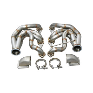 Cxracing Twin Turbo Manifold Header T4 Elbow For 60 66 Chevy C10 Truck Sbc