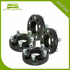 4 Pcs 1 5x4 5 70 5 Mm Wheel Spacers 1 2 For Ford Mustang Edge Ranger