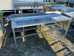 Heavy Duty 60 X 32 Commercial Stainless Steel Meat Department 13 5 Conveyor