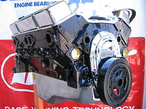 Chevy 383 360 Hp 4 Bolt High Performance Balanced Crate Engine Chevrolet