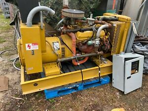 Katolight N85frf4 Standby 85 Kw Commercial Industrial Gas Generator 303 Hours