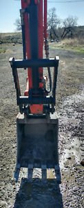 Hydraulic Thumb Attchment Fits Kubota Excavator U27 For Quick Connect Bucket
