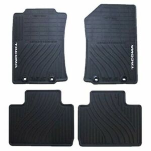 2012 2015 Tacoma Floor Mats All Weather Access Cab Genuine Toyota Pt908 35121 20