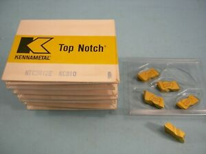 Qty Of 5 New Kennametal Ntc3r12e Kc810 Kennametal Indexable Carbide Threading