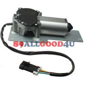 Wiper Motor For Bobcat S220 S250 S300 S330 A220 A300 Skid Steer Arm Blade