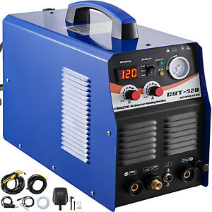 Plasma Cutter Tig Welder Ct520 Tig Mma 3 In 1 Non touch Pilot Arc Torch 110 220v