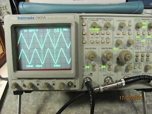 Tektronix 2465a 350mhz 4 Channel Oscilloscope