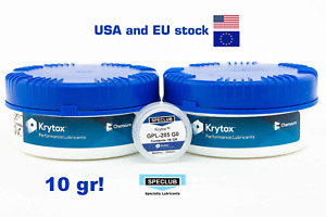 10 Gr Krytox Gpl 205 Grade 0 Switch Grease Lubricant Linear Switches 205g0