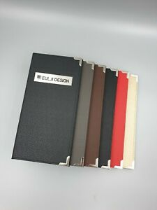 5 31x11 7 Inches Trifold Cafe Bistro Menu Covers Restaurant Menu Holder 6colors
