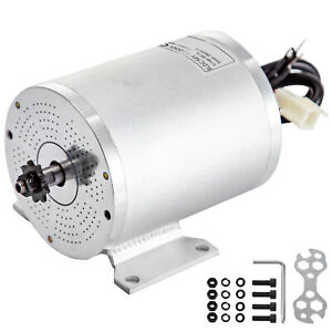 500w 36v Dc Brushless Motor W mounting Bracket 2800rpm Low Emi Electric Motor