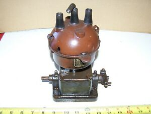 Old Atwater Kent K3 Brass Era Two Cylinder Car Truck Tractor Ignition Nice