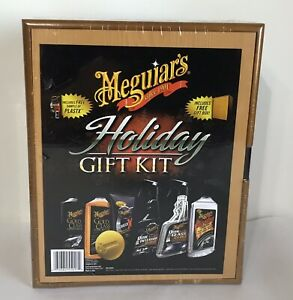 Meguiars Complete Car Care Gift Kit Interior Exterior With Storage Box