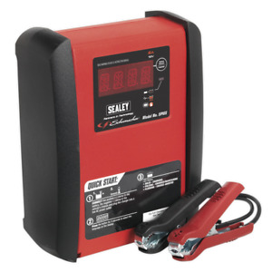 Sealey Schumacher Intelligent Speed Charge Battery Charger 6a 12v Spi6s