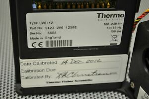 Thermo Spectrophotometer 9423 Uv6 1250e