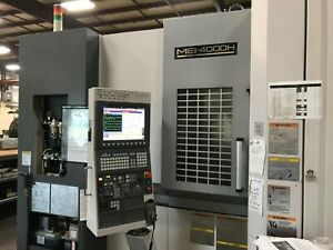 Okuma Mb 4000h Horizontal Machining Center Osp p200ma Coolant Thru New 2011