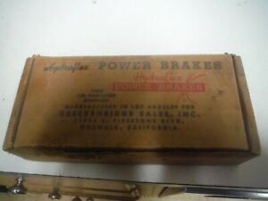 1956 Nos Vintage Hydraflex Power Brakes In Box With Paperwork Never Installed