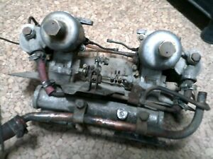 Austin Healey Sprite H1 Hs1 Su Carburetors