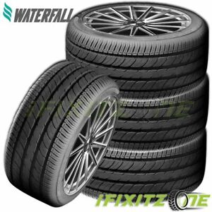 4 Waterfall Eco Dynamic 195 45r15 78v All Season Traction 400aa Passenger Tires
