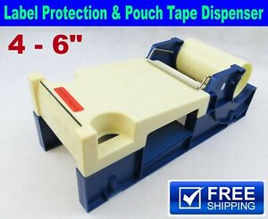 4 6 Label Protection Pouch Tape Dispenser Industrial Packing Boxes Bags