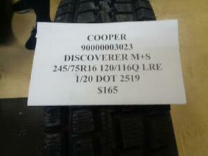 1 New Cooper Discoverer M S Lre 245 75 16 120 116q Lre Tire 90000003023 Q0