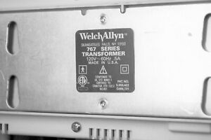Welch Allyn 767 Wall Transformer Suretemp Thermometer And 2 Oto Heads