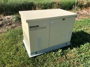 Never Started Kohler Power Systems Natural Gas Generator 8 5res 120 240v