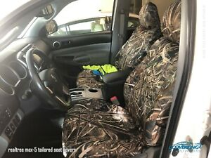 Realtree Max 5 Camo Custom Tailored Neosupreme Seat Covers For Toyota Tacoma