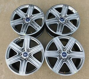 2004 2020 Ford F150 Expedition 20 Factory Alloy Wheels Oem 10172 Hyper Silver