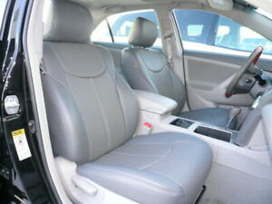 Clazzio Pvc Synthetic Leather Gray Seat Covers For 2012 2017 Toyota Camry L Le