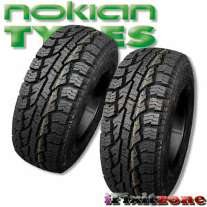 2 Nokian Rotiiva At Plus Lt225 75r16 115 112s 10 ply All Terrain 60k Mile Tires
