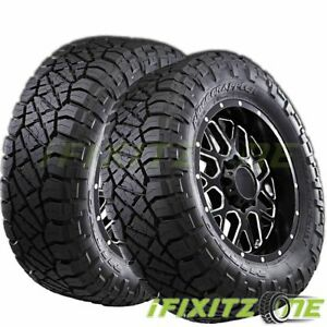 2 Nitto Ridge Grappler All terrain Pickup Truck Lt305 55r20 125 122q Mud Tires