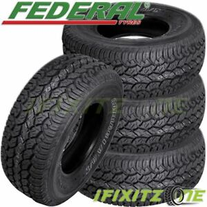 4 New Federal Couragia A t 31x10 50r15lt 109q Owl All Terrain On off road Tires
