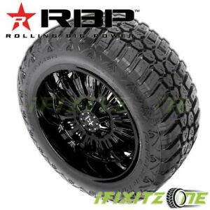 1 Rbp Repulsor M t Rx 33x12 50r17lt 114q E 10 All season Jeep Truck Mud Tires