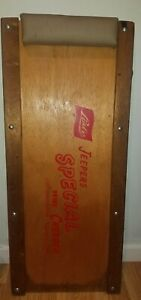 Extremely Rare Vintage Lisle Jeepers Creeper Special Wooden Auto Creeper Sp