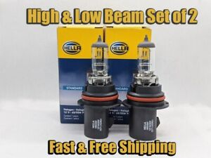 High Low Beam Headlight Bulb For Ford F 250 1992 1999 Set Of 2