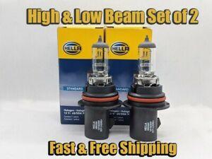 High Low Beam Headlight Bulb For Plymouth Voyager 1996 2000 Set Of 2