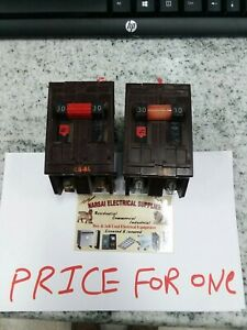 Wadsworth A230 30 Amp 240 Volt 2 Pole Breaker price For One box 27