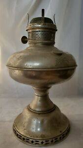 Magnet Oil Kerosene Lamp Nickel Silver Original Plume And Atwood Use Or Parts