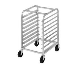 Channel Manufacturing Aluminum Full Size Sheet Pan Rack Holds Nine 18x26 Pans