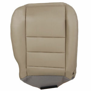 For 02 07 Ford F250 F350 Super Duty Lariat Driver Bottom Leather Seat Cover