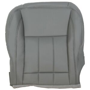 For 2006 Dodge Ram 1500 2500 3500 Driver Side Bottom Leather Seat Cover Gray