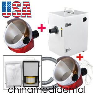 Usa Dental Digital Dust Collector Vacuum Cleaner Lab Machine suction Base Useful