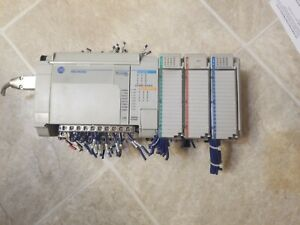 Allen Bradley 1764 24bwa Ser B Micrologix 1500 With Extras