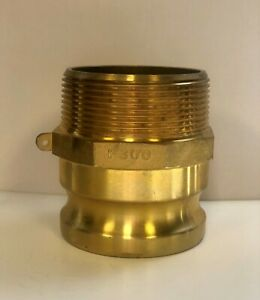 F300 Brass Camlock Fitting $30.30